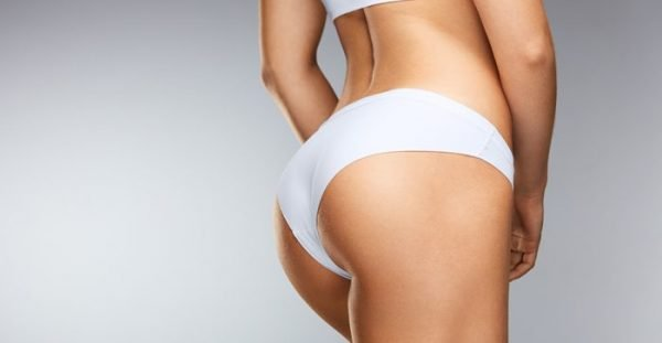 Buttock implants change the appearance of the buttocks and the size of the implants can vary.
