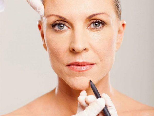 Chin augmentation can change the shape of the face.