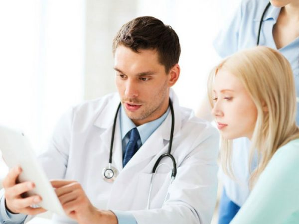 A doctor will review your results, and if necessary, refer you for further treatment.