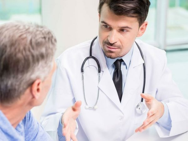 There are various methods of treatment which the patient and doctor will discuss together.