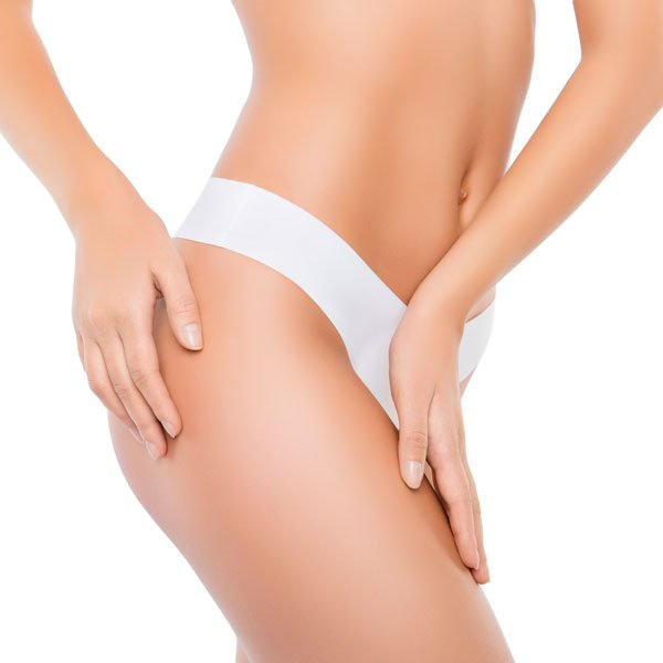 A thigh lift tightens the skin in the thigh region, reshaping the appearance of the thigh, giving it a firmer look.